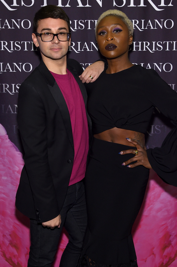 Photo Flash: Cynthia Erivo and More Celebrate Christian Siriano's DRESSES TO DREAM ABOUT Book Release