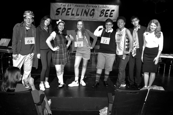 Photo Coverage: Rehearsal Night for THE 25TH ANNUAL PUTNAM COUNTY SPELLING BEE