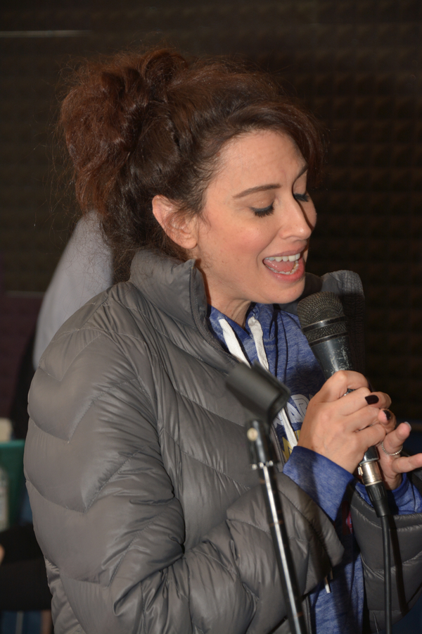 Photo Coverage: In Rehearsal with Drew Gehling, Lesli Mergherita, and More for ROCKERS ON BROADWAY