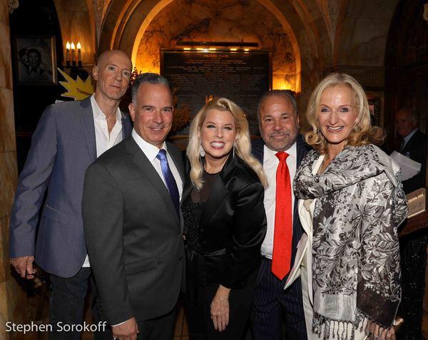 Bernard McGurik, Rita Cosby, Bo Dietl, Ann Liguori Photo