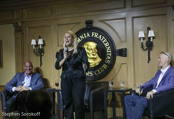 SId Rosenberg, Rita Cosby, Bernie McGurik Photo