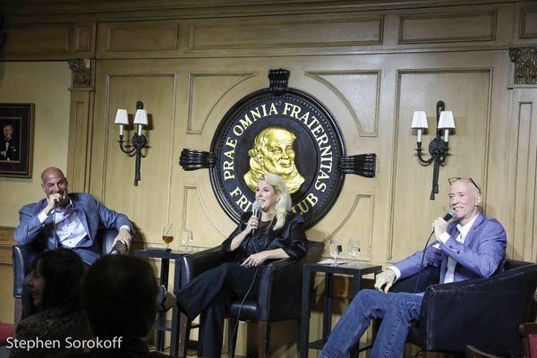 Sid Rosenberg, Rita Cosby, Bernard McGurik Photo
