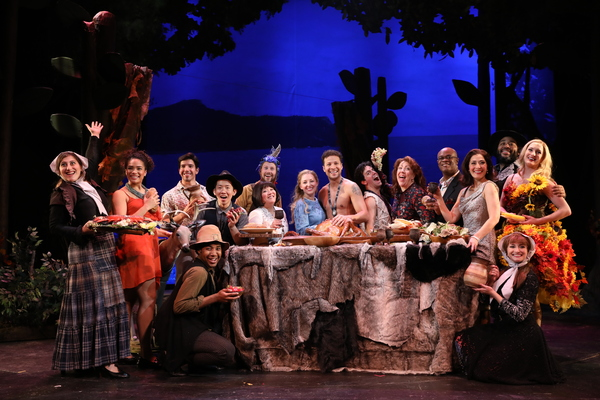 Photo Flash: First Look at Ann Harada and cast in THE NEW WORLD at Bucks County Playhouse