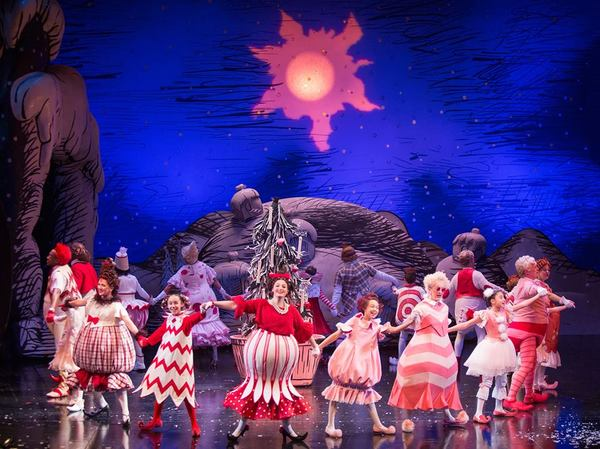Photo Flash: See The Cast of HOW THE GRINCH STOLE CHRISTMAS At The Old Globe Theatre!