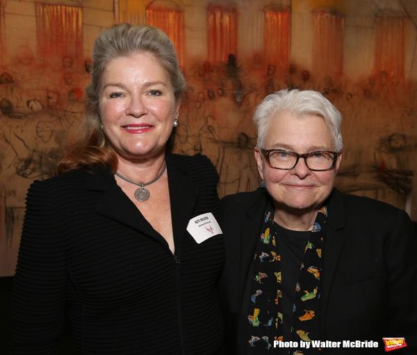 Kate Mulgrew and Paula Vogel
