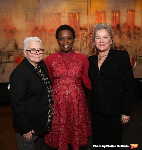 Paula Vogel, Antoinette Nwandu and Kate Mulgrew