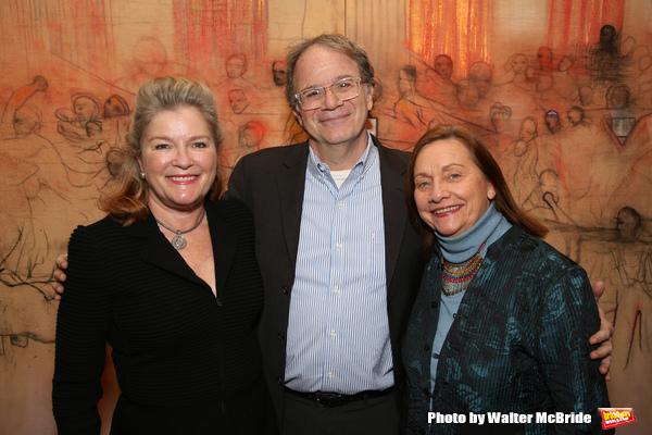 Kate Mulgrew, Douglas Aibel and Dale Soules