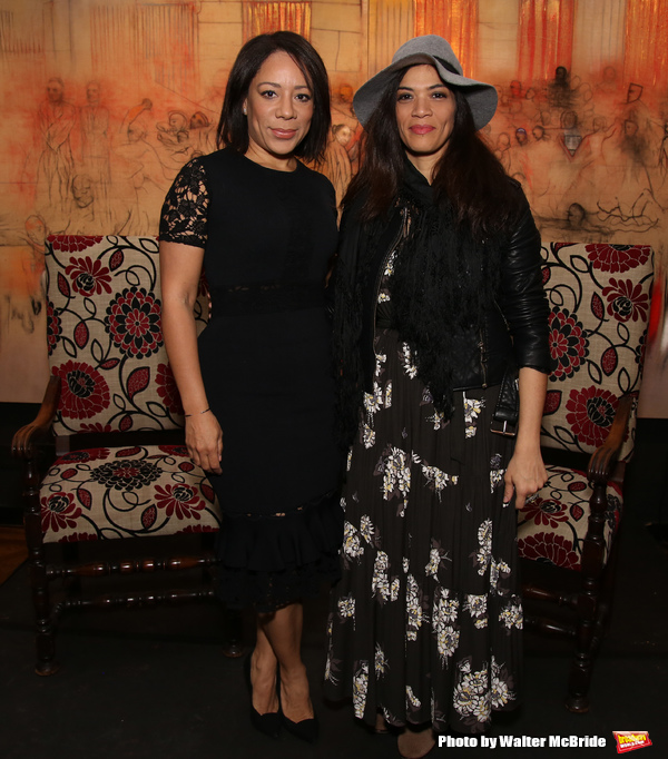 Selenis Leyva and Laura Gomez  Photo