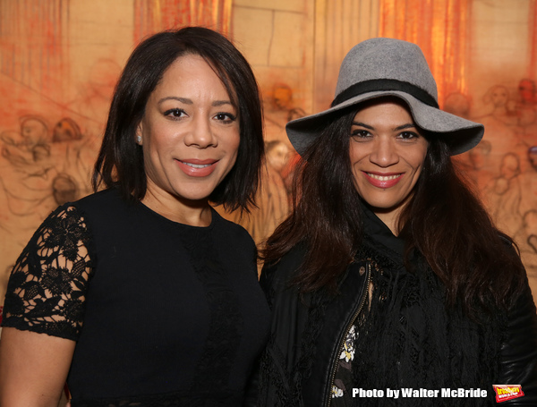Selenis Leyva and Laura Gomez