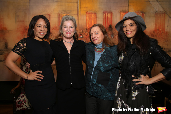 Selenis Leyva, Kate Mulgrew, Dale Soules and Laura Gomez  Photo