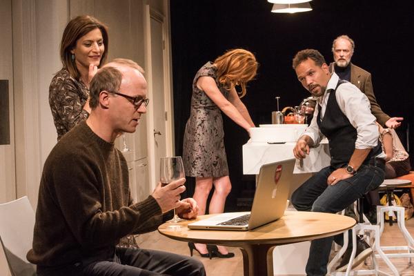 Photo Flash: English Comic Drama MUSWELL HILL Kicks Off at The Barrow Group