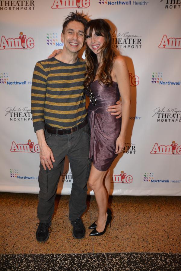 Jon Peterson and Gina Milo