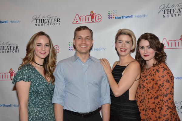 Teresa Whitt, Joel Pellini, Theresa Rowley and Hannah Slabaugh
