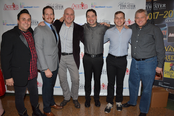 Victor Ortega, Brian C. Veith, George Dvorsky, Michael Santora, Joel Pellini and Todd Photo