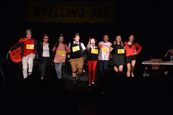 Photo Coverage: Curtain Call with the Cast of THE 25TH ANNUAL PUTNAM COUNTY SPELLING BEE