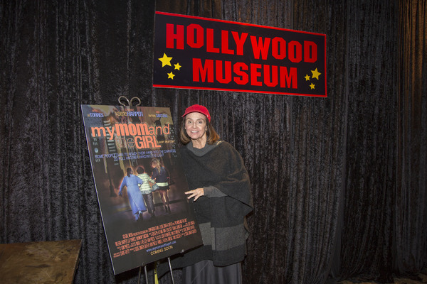 Valerie Harper with My Mother and the Girl poster