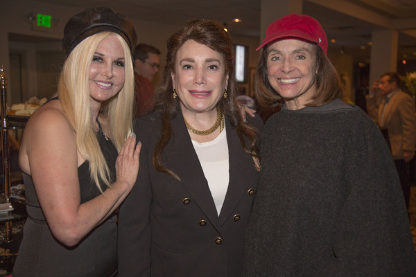 Susie Singer Carter (Director/Actress/Producer), Donelle Dadigan (President/Founder The Hollywood Museum), and Valerie Harper (Actress/Activist)