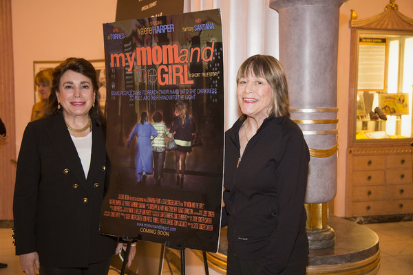Photo Flash: Valerie Harper Offers Rare Q&A for MY MOM & THE GIRL