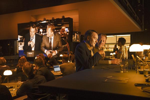 Bryan Cranston, Douglas Henshall, and cast Photo