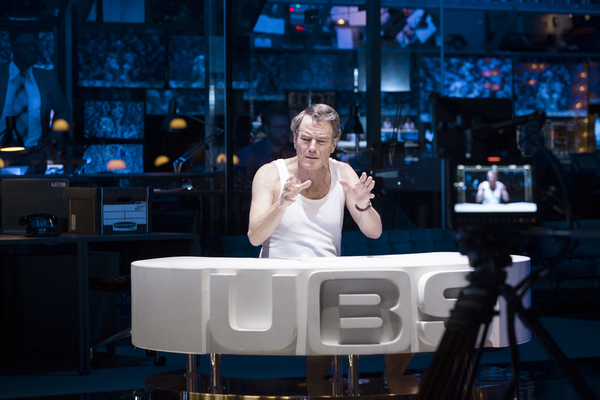 Photo Flash: First Look at Bryan Cranston in NETWORK at the National Theatre