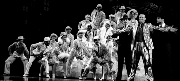 Photo Flash: A Look Back at LEGS DIAMOND Before Its 30th Anniversary Reunion at Feinstein's/54 Below