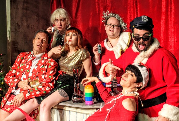 Photo Flash: Out of Box Theatre presents SANTA AFTER HOURS
