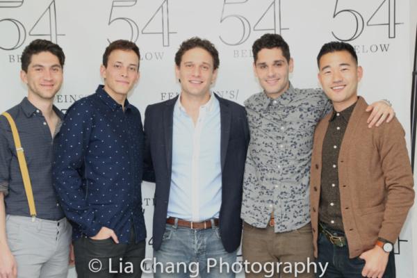 Danny Larsen, Brian Flores, Eric William Morris, Perry Sherman and Daniel K. Isaac Photo