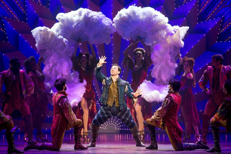 BWW Review: McClure & Pascal Bring the Hilarious High-Jinks of SOMETHING ROTTEN! to OC