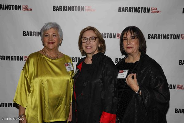 Mary Ann Quinson, Board Chair, Julianne Boyd, Marita O'Dea Glodt, President