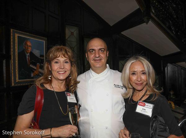 Elizabeth Aspenlieder, Massimo Carbone, Eda Sorokoff