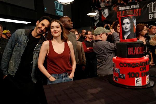 Amir Arison, Megan Boone Photo