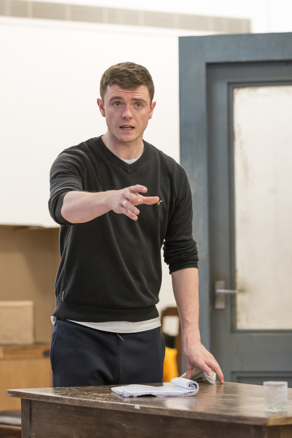 Photo Flash: A Look Into the Rehearsal Room for CELL MATES at Hampstead Theatre