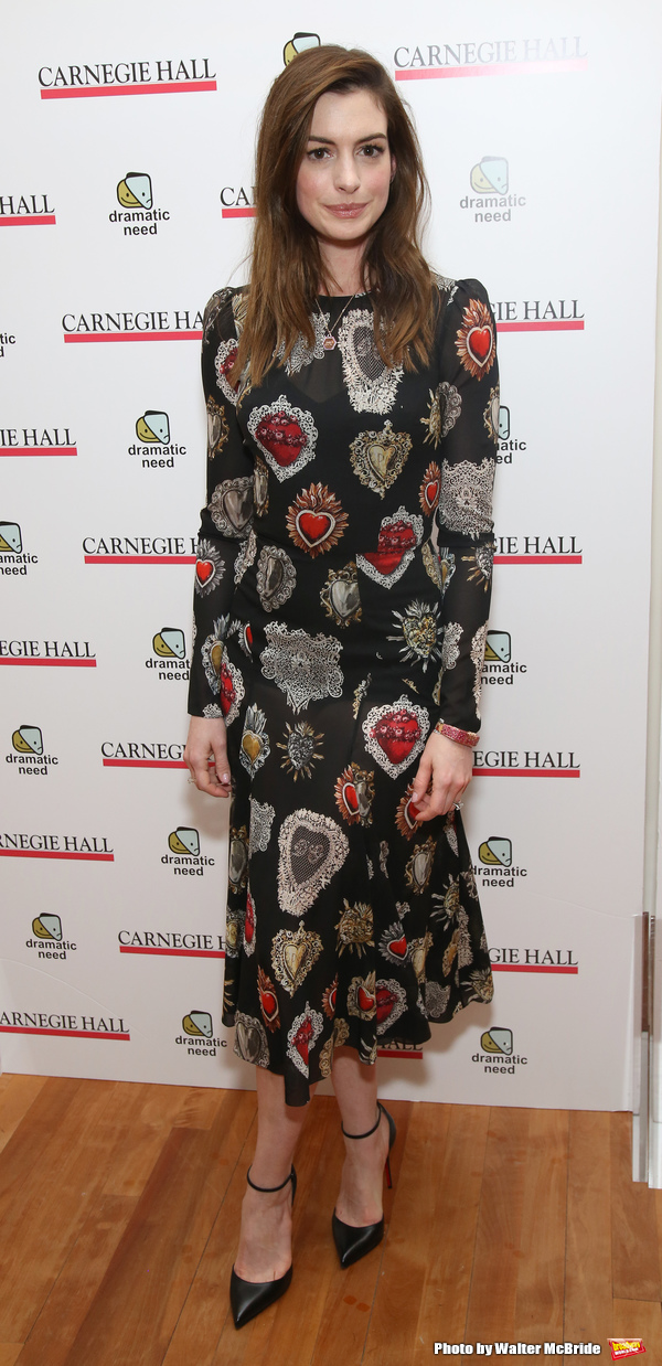 Photo Coverage: Anne Hathaway, Jessica Chastain, Audra McDonald, and More Brought THE CHILDREN'S MONOLOGUES to Carnegie Hall