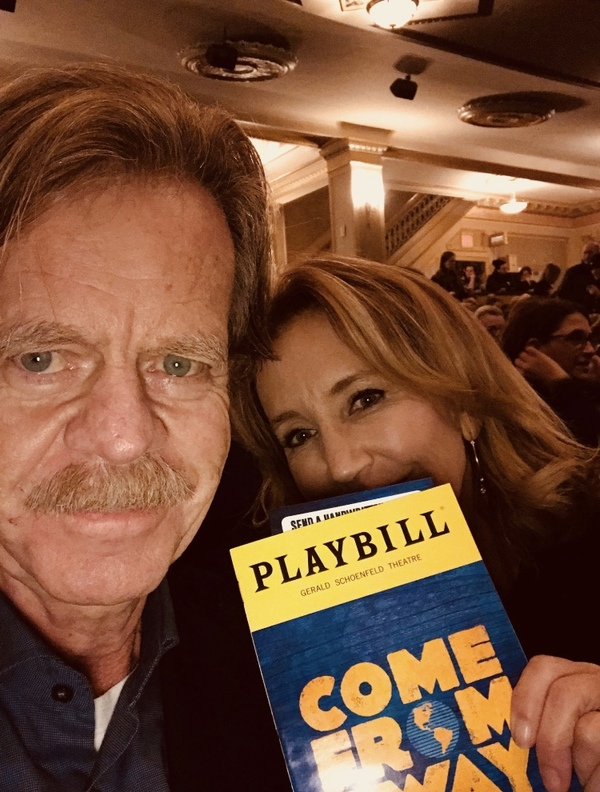William H. Macy and wife Felicity Huffman Photo
