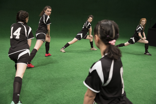 Photo Flash: First Look at All-Female Soccer Play THE WOLVES at Lincoln Center Theater