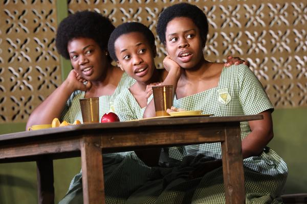 Abena Mensah-Bonsu,Mirirai Sithole, andPaige Gilbert.Photo Credit:Joan Marcus