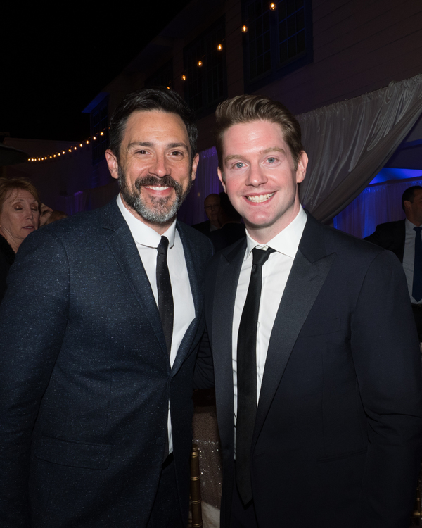 Steve Kazee and Rory O'Malley