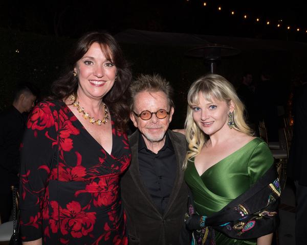 Sherry Greczmiel, Paul Williams, and Genevieve Joy