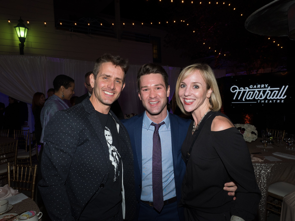 Joey McIntyre, Gerold Schroeder, and Anna Aimee White Photo