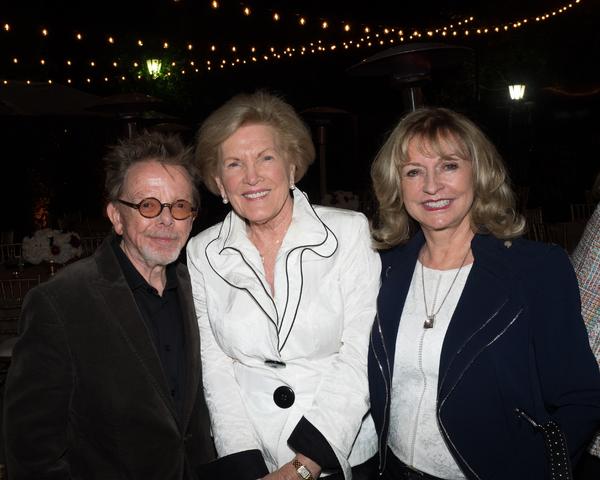 Paul Williams, Barbara Marshall, and friend
