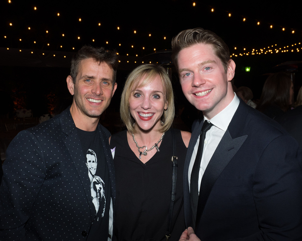 Joey McIntyre, Anna Aimee White, and Rory O'Malley Photo