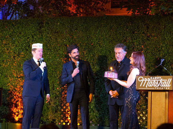 Rory O'Malley, John Stamos, Joe Mantegna, and Lisa Blake
