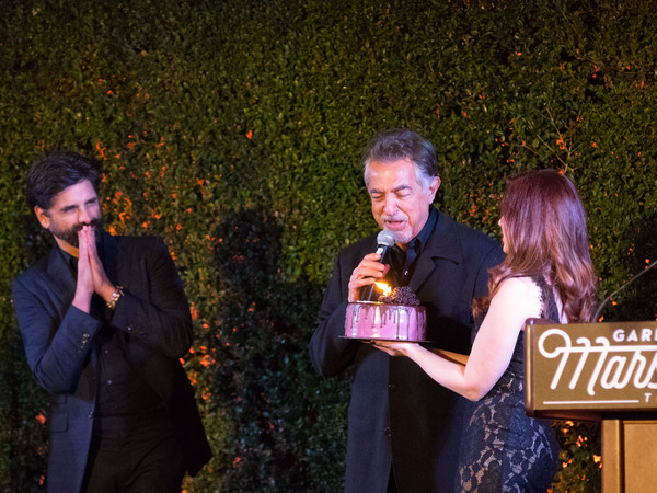 John Stamos, Joe Mantegna, and Lisa Blake