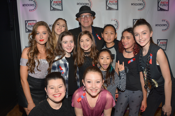 Donnie Kehr with Haley Lanzoni, Carrie Berk, Olivia Leone, Meghan Jenkins, Evie Dolan Photo