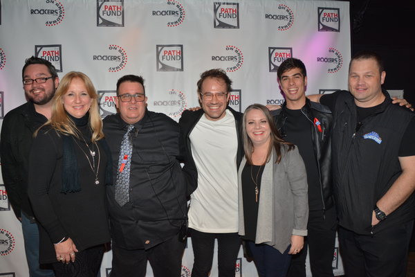 The production crew-Mitchell Keller, Jake McCoy, Cori Gardner, Martin Weiss and Michael Clarkston