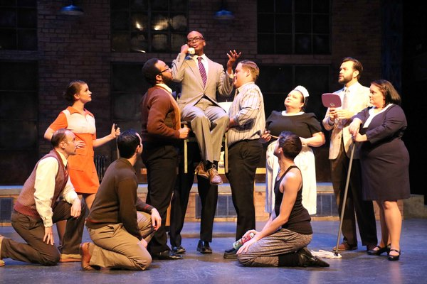 Photo Flash: Porchlight Theatre Revisits WOMAN OF THE YEAR