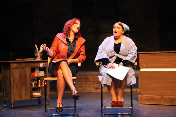 """Actresses Meghan Murphy and Kimberly Lawson in Porchlight Revisits """"Woman of the Year"""""""
