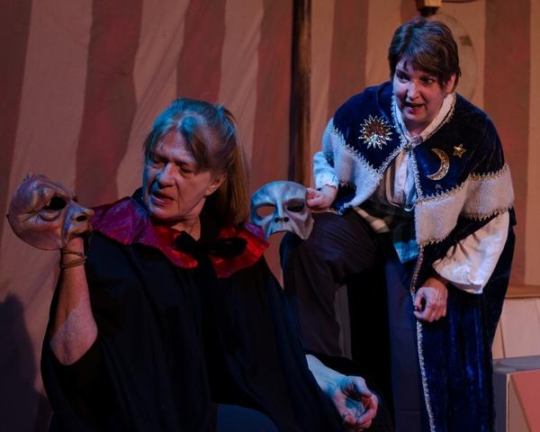 Left to right:  Morgan McCabe, Elaine Carlson