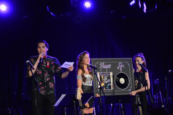 Ryan Willard, Hayley Lanzoni and Ashley Lanzoni