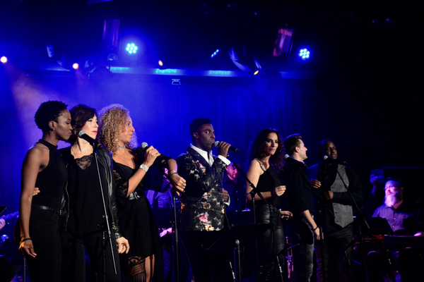 Kyle Taylor Parker and The Broadway Inspirational Voices-Anastasia Talley, Lucia Giannetta, Danielle Chambers, Angela DeCicco, Michael Seelbach and Jason McCollum